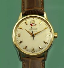 Vintage 50s  Le Coultre Vacheron Power Reserve Bumper Automatic Unusual Watch