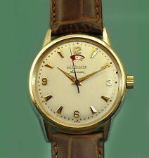 Vintage 50s  Le Coultre Vacheron Power Reserve Bumper Automatic Unusual Watch