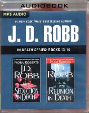 J D Robb In Death Series Books 13-14 Seduction & Reunion in Death Unabridged MP3