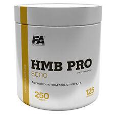 HMB PRO 8000 250 Tablets Anabolic Anticatabolic Lean Muscles Development Growth
