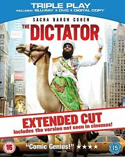 The Dictator Extended Cut Blu Ray (Sacha Baron Cohen) New & Sealed