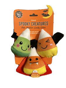 Fringe | Candy Corns Set Of 3  | Squeaky Plush Dog Toy