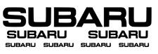 Subaru Impreza STI WRX P1 RB5  Sticker Decal Sunstrip 1x1000mm + 2x400MM +......