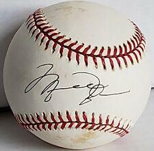 MICHAEL JORDAN Bulls Barons Autographed Official American League Baseball w/Cube