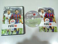 Fifa 10 EA SPORTS Benzema Xavi - Set para PC Dvd-Rom Spanien - 3T