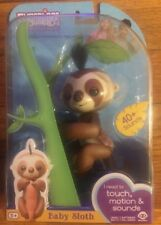 Fingerling SLOTH Kingsley Fingerling 100% Authentic WowWee Walmart