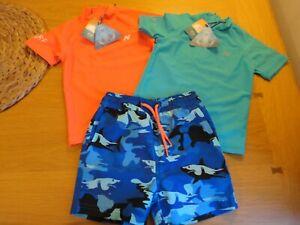 Next Boys UV Sunsafe Rash Vest or Swim Shorts 3 6 9 12 18 24 Months NEW FREEPOST