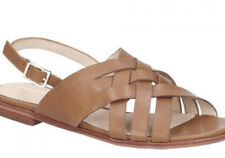 Hush Puppies Womens Riley Buckle Ankle Strap Flat Sandals Sz 5