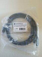 Monoprice 9805 FLEXboot Series Cat6 24AWG UTP Ethernet Network Patch Cable - 5ft