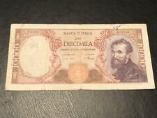 Italy 1962 10000 Lire Banknote