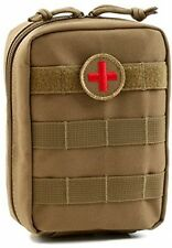 Orca Tactical MOLLE EMT Medical First Aid Pouch (Tan)
