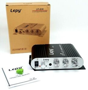 Lepy Lepai Lvpin LP-838 Super Bass Hi-Fi 2.1 Stereo Amplifier For PC Car Home