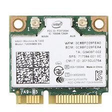 Intel 7260HMW BN 802.11N Bluetooth 4.0 Mini PCI-E Wi-Fi Wireless Card 300M