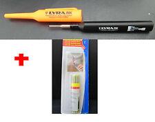 1x LYRA INK Tieflochmarker - schwarz + 1 Box Minen graphit  - neu !