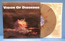 """VISION OF DISORDER """"STILL"""" LP , GREY SPLATTER VINYL 12"""" 33rpm record"""