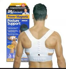 Adjustable Magnetic Posture Back Shoulder Corrector Support Belt Therapy Men