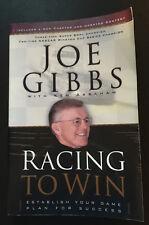 Racing to Win JOE GIBBS w/ K Abraham Establish Your Game Plan for Success 2002