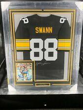 Lynn Swann - Pittsburgh Steelers-  Framed Jersey- JSAAutograph