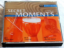 SECRET MOMENTS Vol.2 - Kraft und Stärke durch neue Klänge - 3er CD-Box
