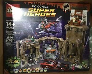 LEGO BATMAN CLASSIC TV SERIES BATCAVE 76052 NEW IN FSB, FEATURES 2526 PIECES