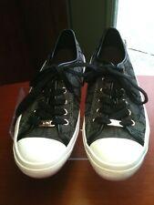 Women's Coach Empire Signature Sneakers Black Gray Size 8