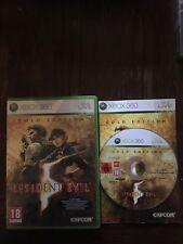 Jeux Vidéo Résident Evil 5 Xbox 360 Version Français