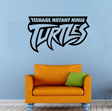 Ninja Turtles Wall Decal TMNT Vinyl Sticker Comics Hero Home Wall Decor (001n)