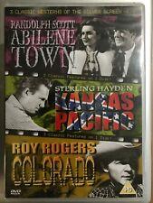 Abilene Town Kansas Pacific Colorado DVD Western Classic Triple Bill