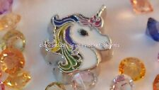 ~LQQK~ Magical*Rainbow* Unicorn Floating Charm for Memory Locket US seller fc483