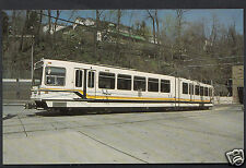 American Transport Postcard - Pittsburgh Pat 4136 Transit Car   A9411