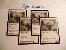 4x MTG Angelo di Serra-Serra Angel Magic EDH Ed Base M10-M11-M12-M13-M14 ITA-ING