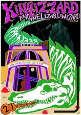 King Gizzard and the Lizard Wizard poster Brixton Academy ltd. print run of 150