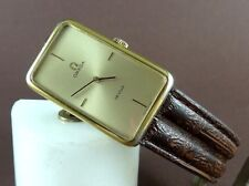 Vintage OMEGA De Ville 511.0382 Gold Plated Watch. Caliber 620. Ca 1970