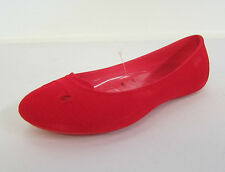 Ladies Crocs 'Mccoll Winter Women' Red Synthetic Slip Ons- W5-UK3 Great Price!