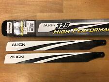Align 325mm CF main blades - Carbon Fiber / Align / TRex HD320ET