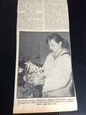 64-5 1965 Picture Article Scilla Isles Flower Show Pupil Carn Thomas