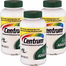 3 x Centrum Multivitamin Multimineral Complete Vitamin A-Z 365 Tabs Adults < 50