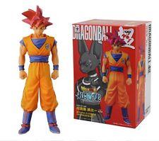 ORIGINAL Banpresto Dragonball Figur Son Goku Super Saiyajin Gott God