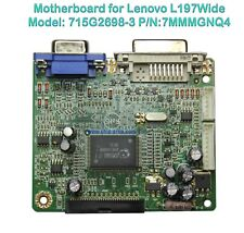 Mainboard 715G2698-3  For Monitor LCD Lenovo L197Wide p/n 7MMMGNQ4 DVI VGA