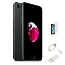 IPHONE 7 RICONDIZIONATO 128GB GRADO A NERO OPACO ORIGINALE APPLE RIGENERATO 128