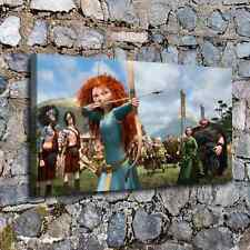 """Disney Brave Merida Painting HD Canvas Print 24""""x44"""" Home Decor Wall Art Picture"""