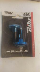 embout guidon bleu diamètre 12