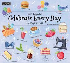 2019 Lang Celebrate Every Day Wall Calendar by Paula Joerling NEW