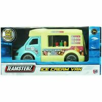 TEAMSTERZ MUSICAL ICE CREAM VAN LIGHT & SOUND DIE CAST TOY VEHICLE KIDS NEW