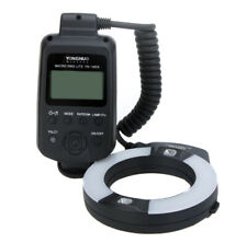 YN-14EX Macro Flash Light With Adapter Rings for Canon EOS DSLR Camera R7L7