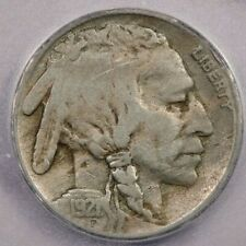 1921-S 1921 Buffalo Nickel 5C ICG F15 Details 2 feather variety