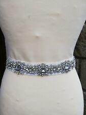 Blue by Enzoani Bridal Belt Sash Style Dillon Ivory Size 10/12/14/16