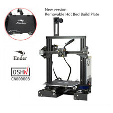 Creality 3d Version With Removable Plate Ender 3 3d Printer Resume Print