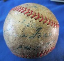 1936 Boston Red Sox Jimmie Foxx & Joe Cronin JSA Authenticated Autographed Ball