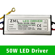 50W LED Driver Power Supply Waterproof For LED Floodlight DIY